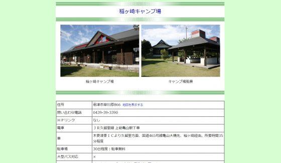 稲ヶ崎キャンプ場