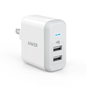 Anker PowerPort 2 (24W 2ポート)